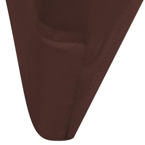 copertura della sedia tratto 6 Pezzi Brown