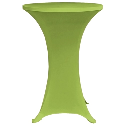Stretch Table Cover 2 pezzi 80 cm Verde