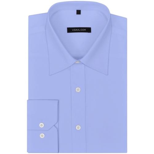 men's business shirt 3 pcs. gr. s white / black / light blue