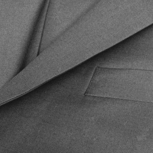 three-piece men's business suit size 50 gray