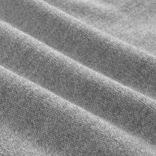 Мужской свитер с молнией Серый M