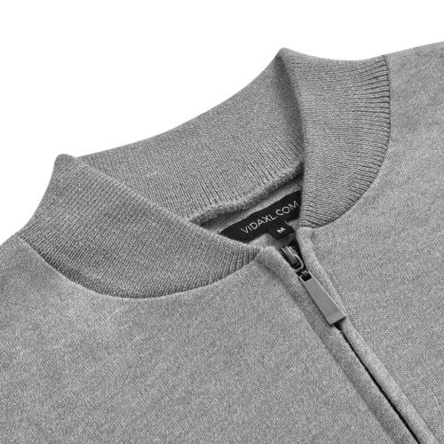 Men's Cardigan Gray L
