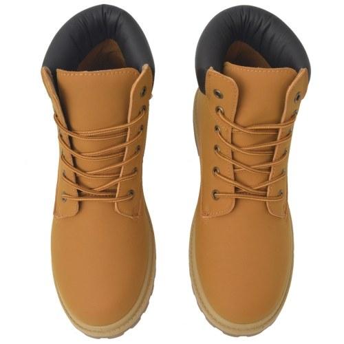 Men's boots Camel size 45