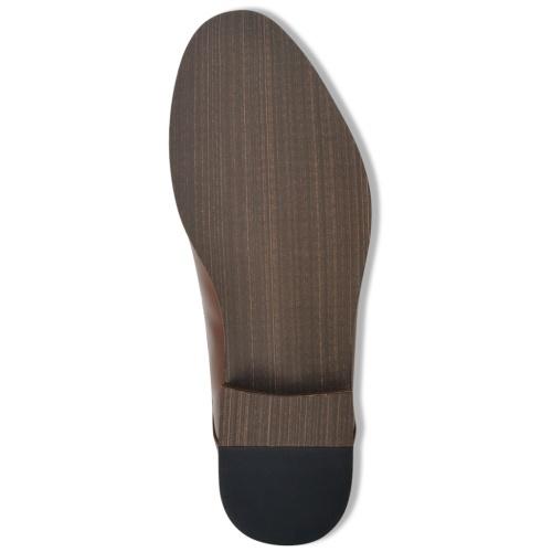 Мужские кружевные ботинки для лодыжки Коричневый размер 42 Кожа PU