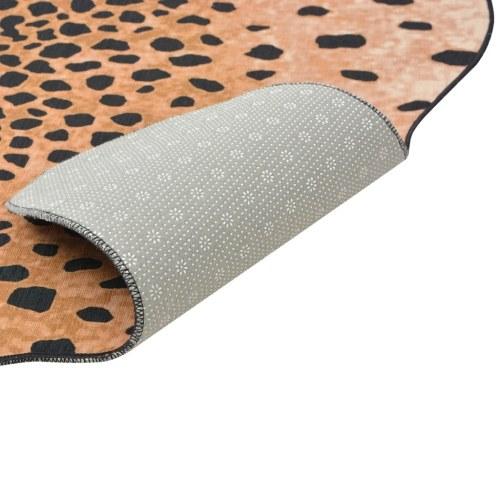 Tappeto cheetah stampa 150 x 220 cm