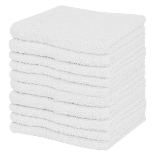 Гостевые полотенца 10 шт. 100% хлопок 360 г / м² 30 х 30 см белый