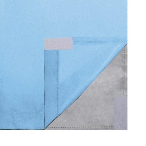 Занавески для штор 2 шт. Двухслойная бирюза 140 х 175 см