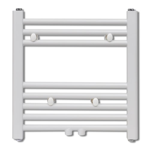 Bathroom Central Heating Towel Rail Radiator Straight 480 x 480 mm