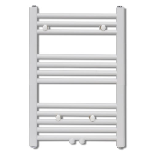 Bathroom Central Heating Towel Rail Radiator Straight 600 x 764 mm