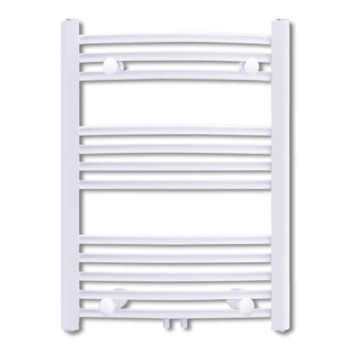 Bathroom Radiator Central Heating Towel Rail Curve 500 x 764 mm