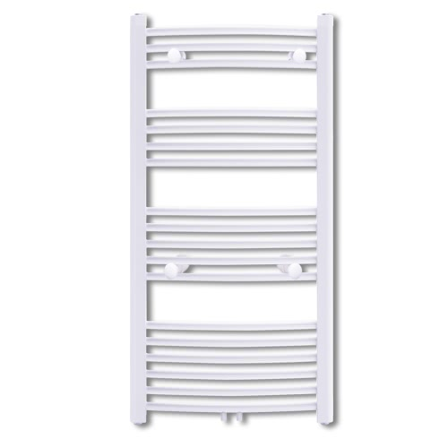 Bathroom Radiator Central Heating Towel Rail Curve 600 x 1160 mm