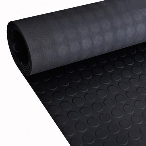 Gummi Bodenmatte Antirutschmatte 2 x 1 m mit Punkte