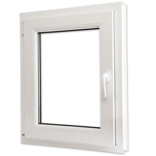 2 Commerce tilt vitrage et tourner PVC côté droit poignée 600x800mm