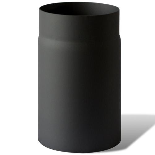Abgasrohr gerade aus Stahl 25 cm