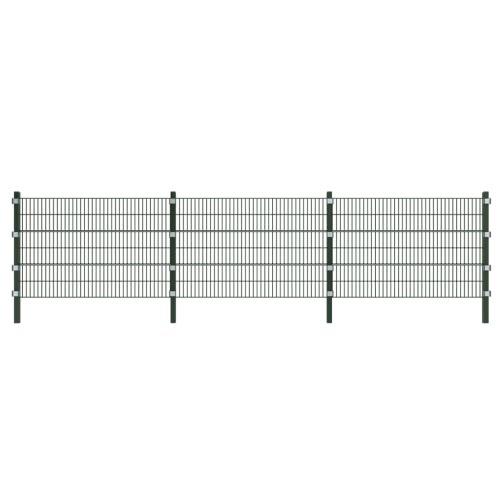 6 m champ de clôture avec le poteau de 1,2 m