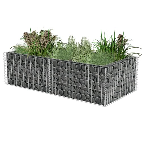 Gabion Planter 180 x 90 x 50 cm