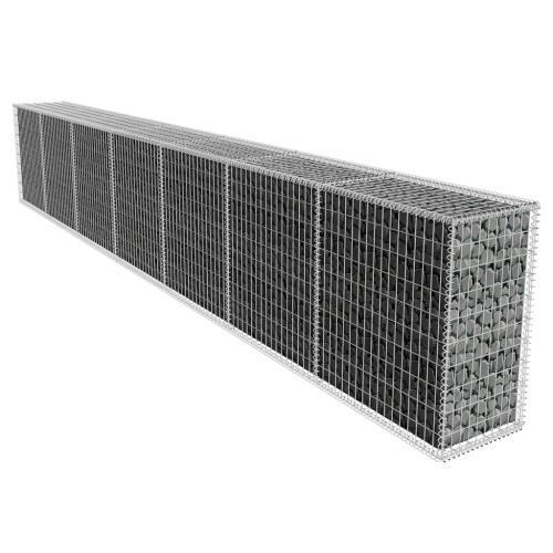 Габионы стена с крышкой 600 х 50 х 100 см