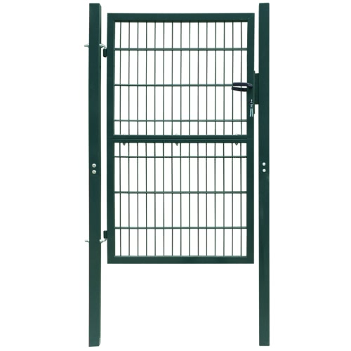 2D Zauntor (single gate) zielony 106 x 210 cm