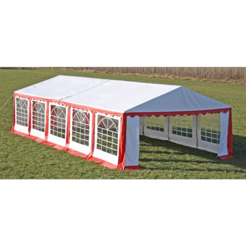Party Tent 10 x 5 m. Red