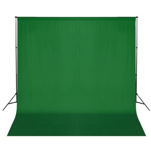 System Tło z zielonym suknem 600 x 300 cm