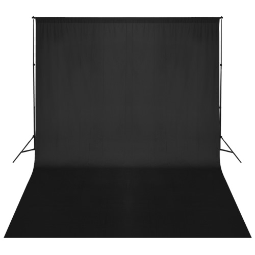 Black Backdrop Support System 500 x 300 cm UK