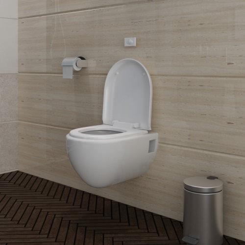 Tenture WC / WC SET NOBLE CONCEPTION WHITE INCL. CITERNE
