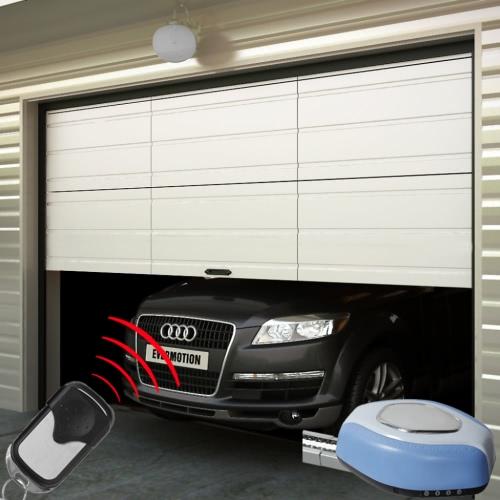 Гараж + привод для открывания двери гаража пультов ДУ + 2