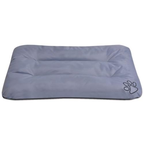 Cama de perro tamaño XXL gris
