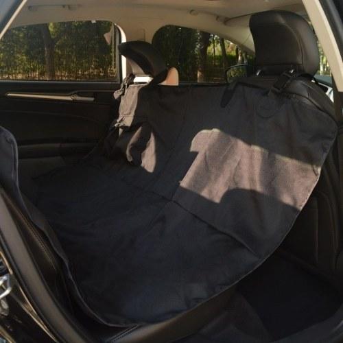 Haustier-Rücksitzbezug 148 x 142 cm Schwarz