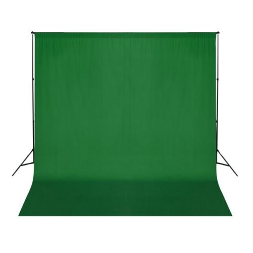 Zdjęcie tło tkaniny 3 x 3 m uni zielony