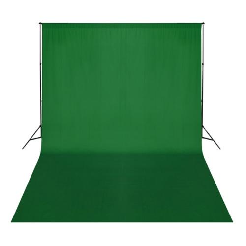 Zdjęcie tła tkaniny 5 x 3 m uni zielony