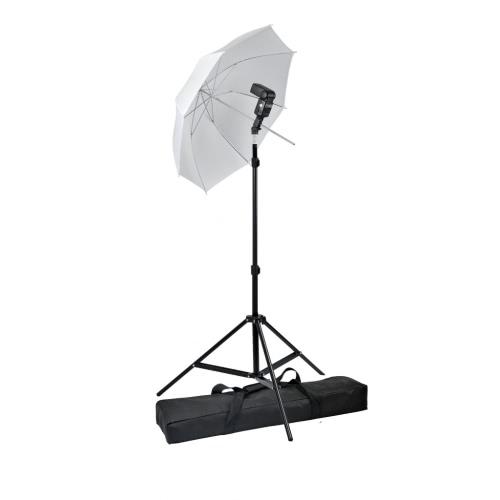 Photo Studio Studio Studio Zestaw Stojak światła Reflektor Parasol