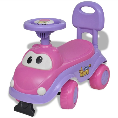 Pink-purple Children's Ride-on Car