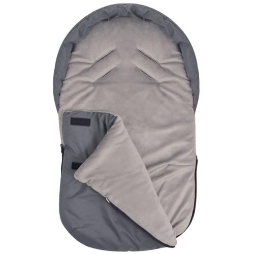 Footmuff / Bunting Bag для Baby Carrier / Car Seat 75x40 cm Grey
