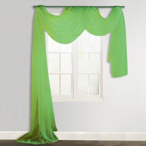 Sheer Вуаль 140 х для штор 600 см зеленый