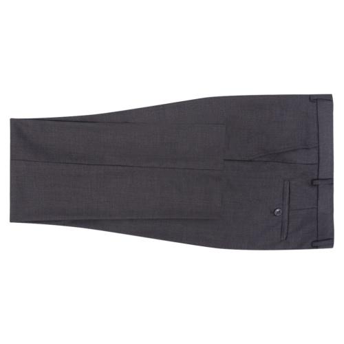 men's two piece business suit grey size 48