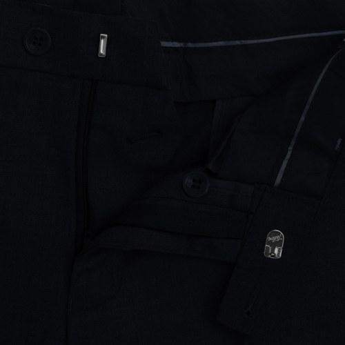 Pantaloni vestito  Uomo nero taglia 48