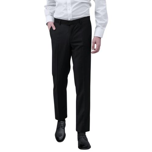 メンズドレスパンツブラックサイズ54