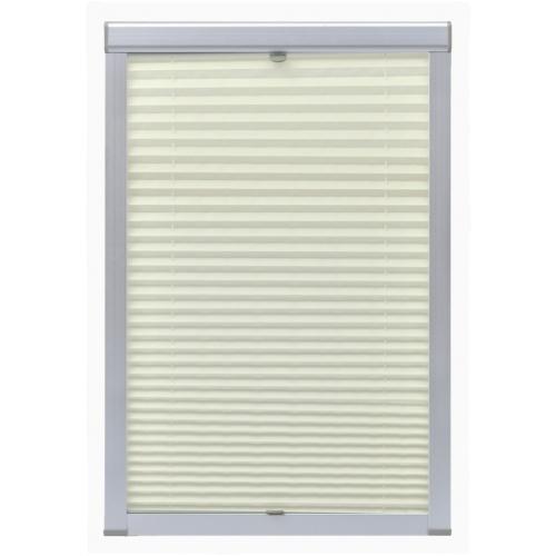 pleated blinds cream 102