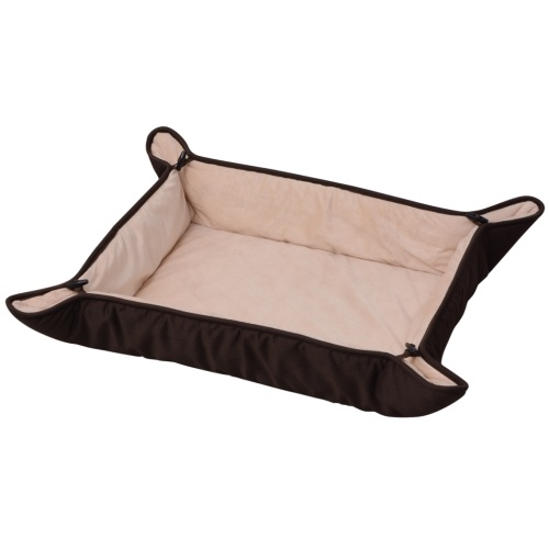 Dog Bed Brown 65x80 cm