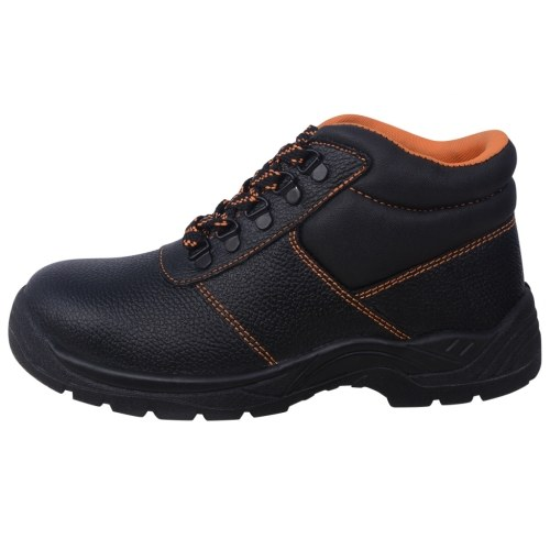 safety shoes black size 41 leather