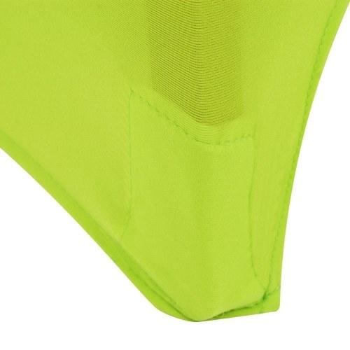 Stretch крышка стула 4 шт Зеленый