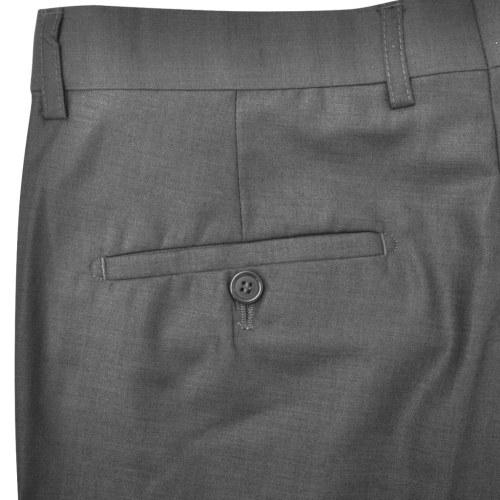 three piece men's business suit size 50 grey