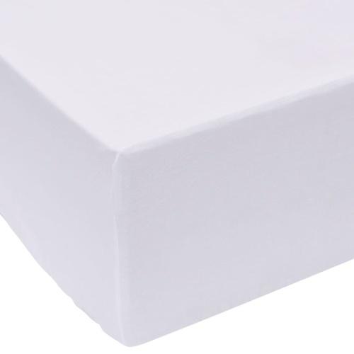 Fitted Sheets 2 шт. 90х220 см Хлопок Белый