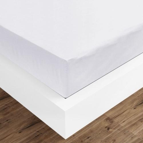 Fitted Sheets 2 шт. 180х200 см Хлопок Белый