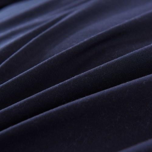 Набор для двухслойной обложки из двух частей Черный 140x220 / 60x70 см