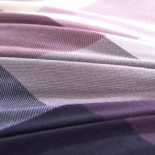 Комплект из трех слоев пододеяльника с фиолетовым чехлом для печати 200x220 / 80x80 см