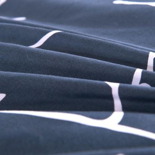 Набор из трех частей обложки из пододеяльника с отделкой 200х220 / 80х80 см