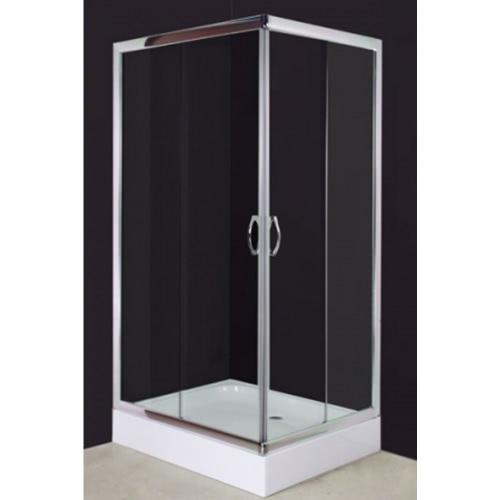 Rectangular Shower Enclosure 100 x 80 cm