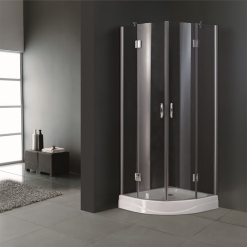 Corner Shower Enclosure 80 x 80 cm.